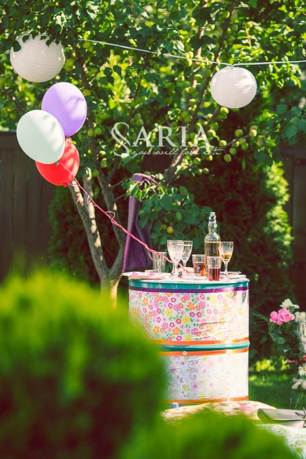 Decor botez, Saria, petrecere in aer liber (7)