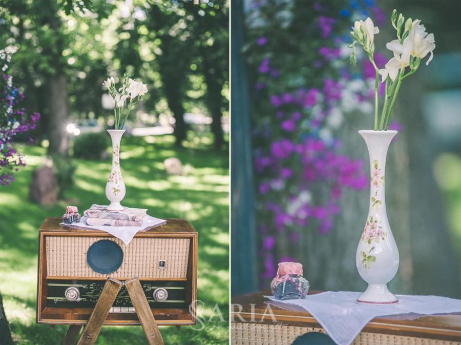 Nunta cu tematica interbelica, aranjamente florale, decoratiuni nunti, saria (10)