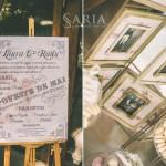 Nunta cu tematica interbelica, aranjamente florale, decoratiuni nunti, saria (1)