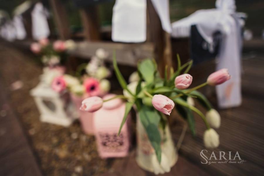 Decoratiuni nunta in aer liber saria aranjamente florale nunti iasi (14)