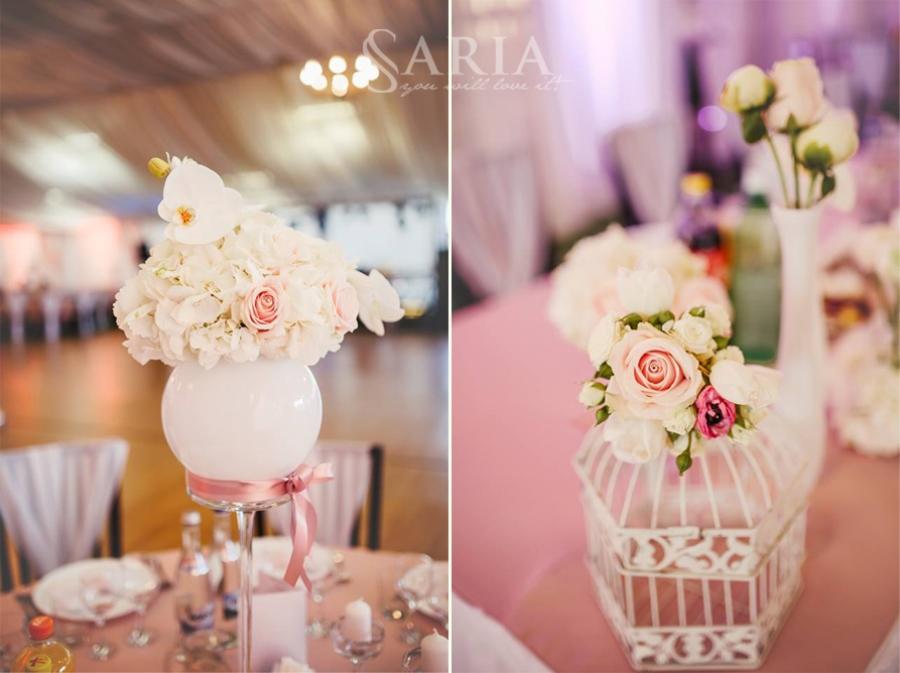 Decoratiuni nunta in aer liber saria aranjamente florale nunti iasi (6)
