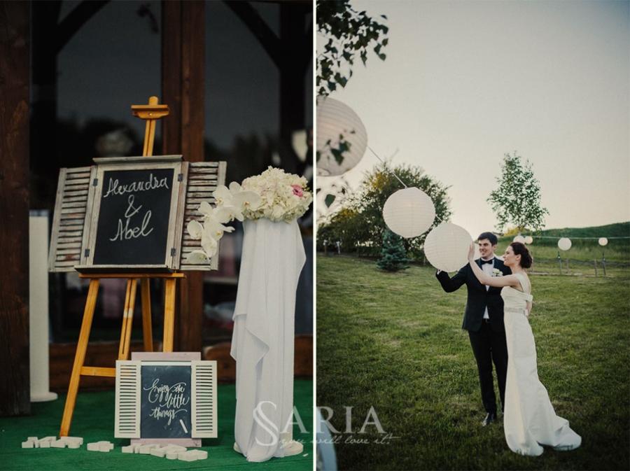 Decoratiuni nunta in aer liber saria aranjamente florale nunti iasi (8)