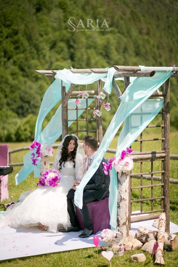Nunta in aer liber Brasov ceremonie (5)