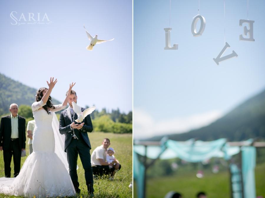Nunta in aer liber Brasov ceremonie (9)