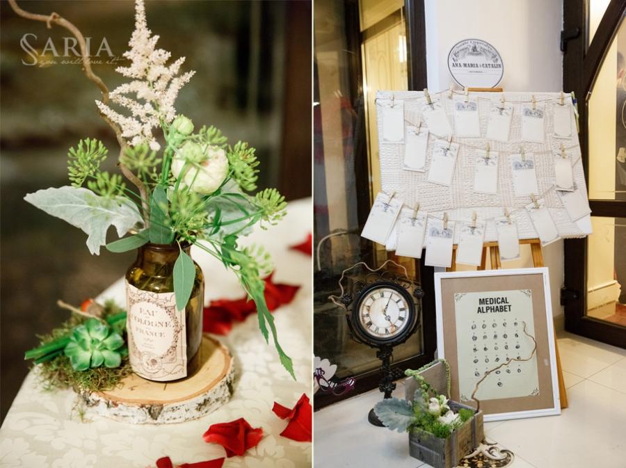 Nunta tematica aranjamente florale buchete de mireasa (12)